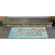 Home Accents Deckside 2' x 3' Sea Maiden Indoor/Outdoor Doormat