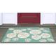Home Accents Deckside 2' x 3' Sea Shell Indoor/Outdoor Doormat