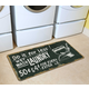 Home Accents Premium Comfort 2' x 4.5' Vintage Laundry Runner