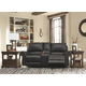Milhaven Power Reclining Loveseat with Console