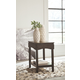 Haddigan Chairside End Table with USB Ports & Outlets