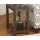 Grinlyn Chairside End Table
