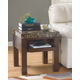 Kraleene End Table with USB Ports & Outlets