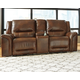 Jayron Reclining Loveseat with Console