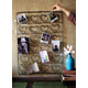 Holiday Wire Twenty Four Heart Photo or Card Holder