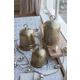 Holiday Set of Three Brass Finish Bells