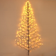 Holiday Tree-shaped Wall Hanging with LED Lights