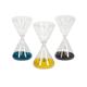 Lagos Glass Hourglasses (Set of 3)