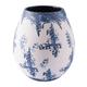 Nube Medium Abstract Watercolor Vase