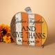 Fall Wooden Tabletop Pumpkin (Set of 2)