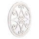 Anteek Scroll Design Plaque With Mirror