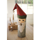 Holiday Recycled Military Canister Santa