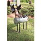 Holiday Recycled Metal Moose Cooler/Planter