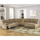 Hogan 5-Piece Reclining Sectional with Chaise