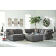 Jayceon 3-Piece Sectional with Ottoman