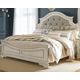 Realyn California King Upholstered Panel Bed