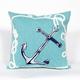 Spectrum II Marine Stripe Indoor/Outdoor Pillow