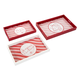 Holiday Christmas Candy Strip Trays