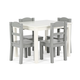 Kids Springfield Wood Table and Four Chairs Set