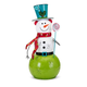 Holiday Whimsy Christmas Large Snowman Lantern