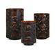 Halloween Apothescary Pierced Skull Lanterns (Set of 3)