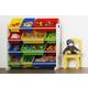 Kids Brinx Toy Storage Organizer with Twelve Plastic Bins