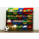 Kids Discover Super-Sized Toy Organizer with Sixteen Plastic Bins