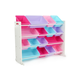 Kids Forever Super-Sized Toy Organizer with Sixteen Plastic Bins