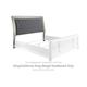 Coralayne King/California King Upholstered Sleigh Headboard