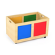 Kids Primary Rolling Toy Box