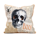 Halloween Apothescary Skull Pillow