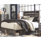 Drystan Queen Panel Bed with 4-Storage