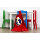 Kids Brinx Wood Table and Four Chairs Set