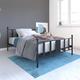 Langham Metal Full Bed