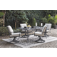 Donnalee Bay Dining Table with Umbrella Option