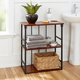 Cheyenne Mixed Material 3-Tier Wall Shelf