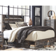 Drystan Panel Bed with 4-Storage