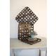 Square Woven Split Wood Baskets (Set of 3)