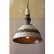 Antique Finish Metal Pendant Light