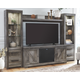 Wynnlow 4-Piece Entertainment Center with Audio