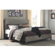 Micco King Panel Upholstered Bed
