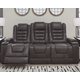 Cave Warrior Power Reclining Sofa