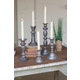 Zinc Candle Holders With Brass Detail (Set of 5)