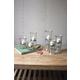 Glass Votive Cylinders (Set of 3)