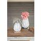 Ceramic Ruffle Large Vase
