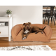 Poly Fill Medium Quilted Microfiber Bolster Pet Bed