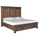 Royard Queen Panel Bed with 2 Storage Drawers