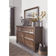 Royard Dresser and Mirror