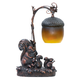 Squirrel And Acorn Lamp