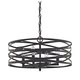 Four Light Vorticy Chandelier in Oil Rubbed Bronze Finish